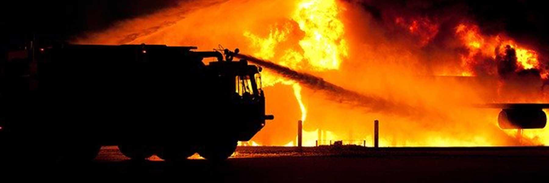 Brandschutz und Brandlöschung